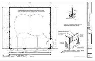 garage floor plans free g234 30 x 30 garage free house plan reviews