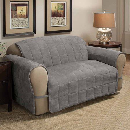 Loveseat Cover Walmart by Innovative Textile Solutions Suede Ultimate Furniture