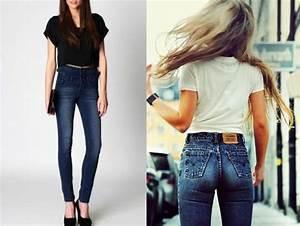 Pantalones ala cintura de moda