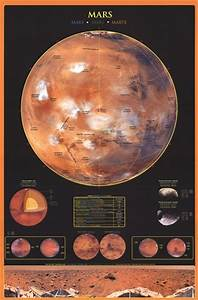 Planet Mars Paper Model Print - Pics about space