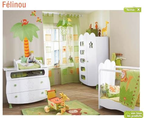 chambre theme jungle deco chambre bebe theme jungle