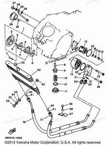 Yamaha Atv 1994 Oem Parts Diagram For Oil Pump