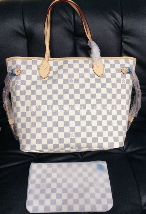 louis vuitton neverfull replica damier azur authentic replica bagshandbags reviews