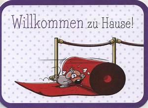 Zu Hause Zuhause : gezeichnete doppelkarte willkommen zu hause ~ Markanthonyermac.com Haus und Dekorationen