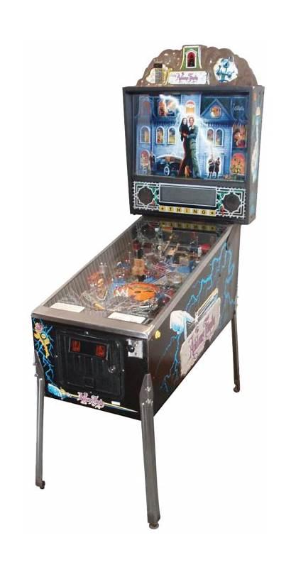 Pinball Addams Machine Games Arcade Machines Restoration