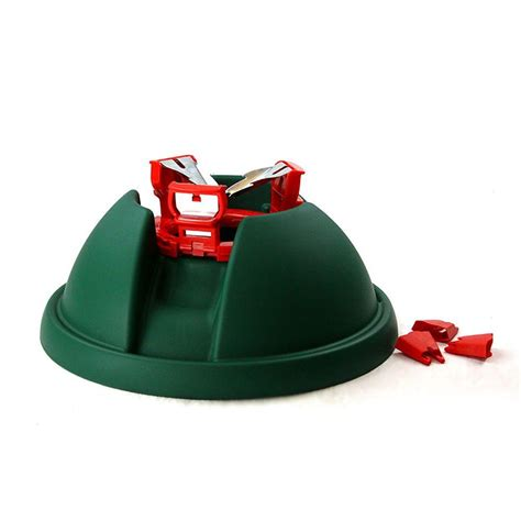 cinco plastic express christmas tree stand for trees up to 8 ft tall c 152e the home depot