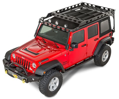 lod easy access roof rack system    jeep wrangler