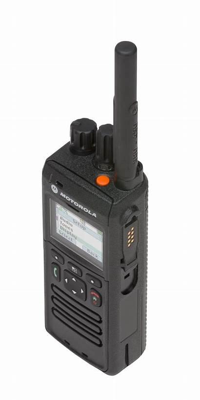 Tetra Portable Radio Terminals Motorola Way Screen