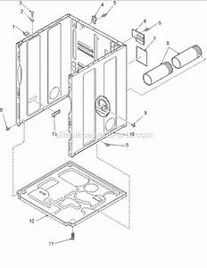Amana Dryer Parts Diagram