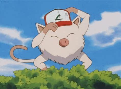 Pokemon Primape Goes Bananas Gif