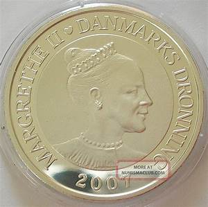 2007 Kingdom Of Denmark 1oz Silver Proof 100 Kroner Coin ...