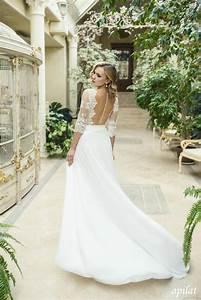 Robes De Mariée Bohème Chic : robe mariage boheme dentelle ~ Nature-et-papiers.com Idées de Décoration