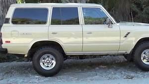 Tan 1984 Fj60 Land Cruiser For Sale