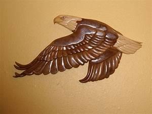 INTARSIA EAGLE Wood Art - Intarsia Pinterest
