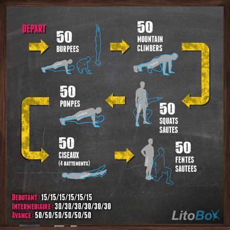 crossfit a la maison programme litobox 300 au poids du corps 188 crossfit