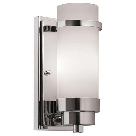 lighting ideas  lights polished chrome bathroom wall