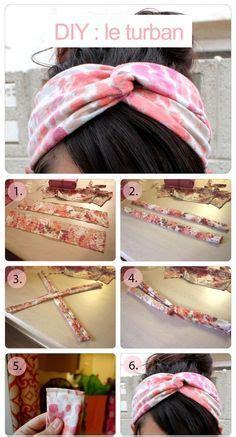 comment faire  bandeau en couture