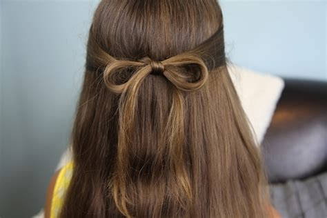 hair bows cute girls hairstyles