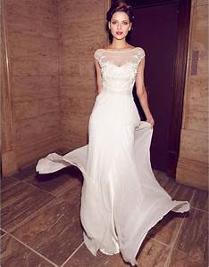 Robe Mariage Dentelle : robe de mari e dentelle fluide 30 robes de mari e en ~ Mglfilm.com Idées de Décoration