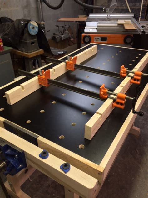 mikes woodworking festool style bench
