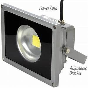 Led outdoor floodlight luminaires less than w replaces