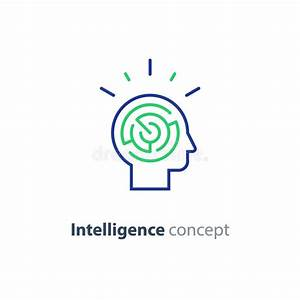 Psychology Concept Logo, Strategy Game Icon, Emotional ...