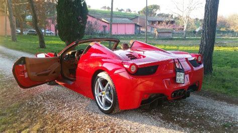 noleggio auto porta garibaldi noleggio f 458 spider 2014