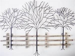 metal tree wall art decor home design ideas With kitchen cabinets lowes with leaves metal wall art