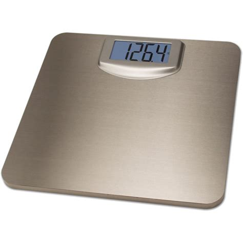 bathroom scales at walmart 7406 stainless steel digital bath scale walmart