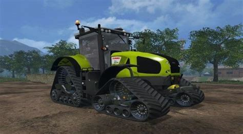 claas axion  terra trac fs farming simulator