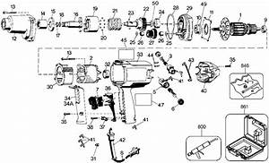 Dewalt Dw291 Impact Wrench Parts  Type 1  Parts