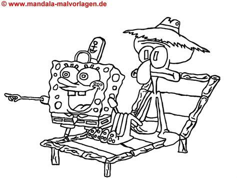 kostenlos spongebob malvorlagen ausmalbilder fuer kinder