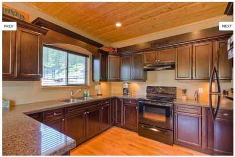 espresso kitchen cabinets with black appliances espresso cabinets with black appliances kitchen ideas 9645