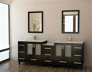 meuble double vasque 50 idees amenagement salle de bain With meuble salle de bain maquillage
