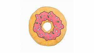 Donut Kissen Xxl : donut kissen 40cm rosa cooles comic dekokissen kaufen ~ Orissabook.com Haus und Dekorationen