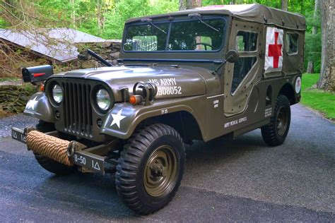 1955 Willys Military Jeep Ambulance M 170 Auto