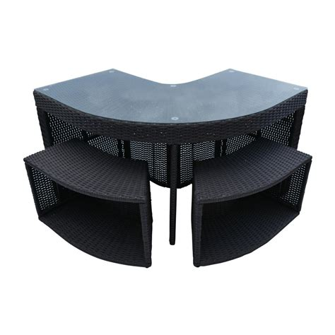 Home Bar Accessories Canada by Canadian Spa Company Corner Bar And 2 Stools Square Spa
