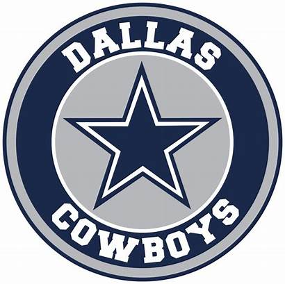 Cowboys Dallas Circle Vinyl Decal Sticker Sizes