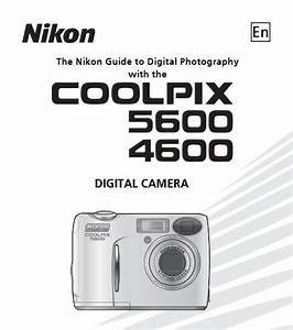 Nikon Coolpix 5600 Manual  Camera Owner User Guide And