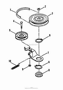 Snapper Lt160h42hbv  84723  42 U0026quot  16 Hp Hydro Drive Tractor Series H Parts Diagram For Belt  Blade