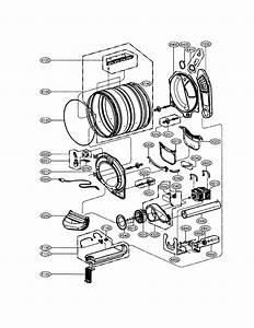 Lg Model Dlex2901v Residential Dryer Genuine Parts