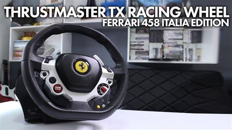 With these drivers, you can also make sure that you always have the latest firmware version available for your wheel. Thrustmaster TX Racing Wheel Ferrari 458 Italia Edition (Xbox One/PC) - YouTube