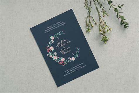 wedding invitation wording      foil