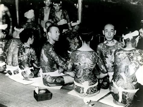 japanese gangster vintage   yakuza