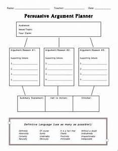 Essay Organizer Persuasive Essay Graphic Organizer With Counter Argument