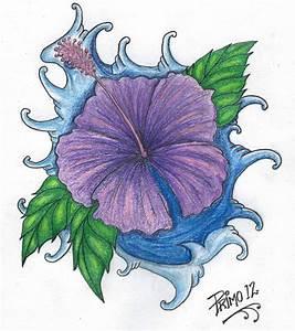 Hibiscus tattoo design by primero on DeviantArt