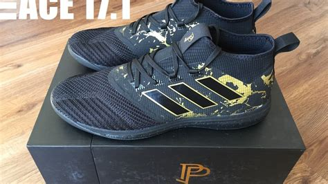 adidas pp ace  tango boost indoor trainer paul pogba unboxing  feet hd youtube