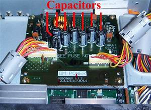 Can You Direct Me To The Four Capacitors That Need