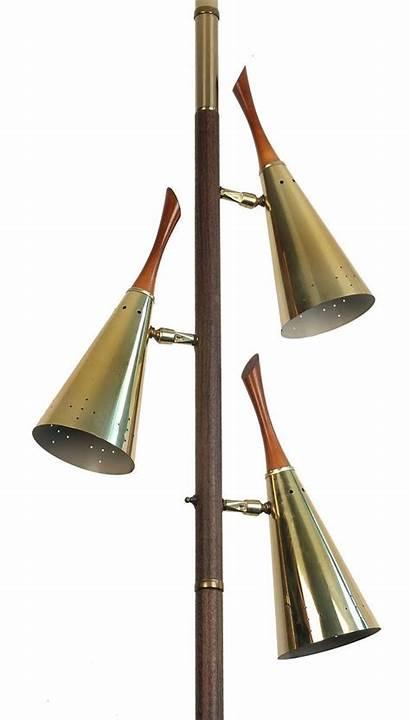 Pole Lamp Floor Ceiling Tension Mid Century