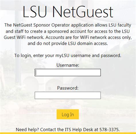 wireless request a lsu netguest account grok knowledge base